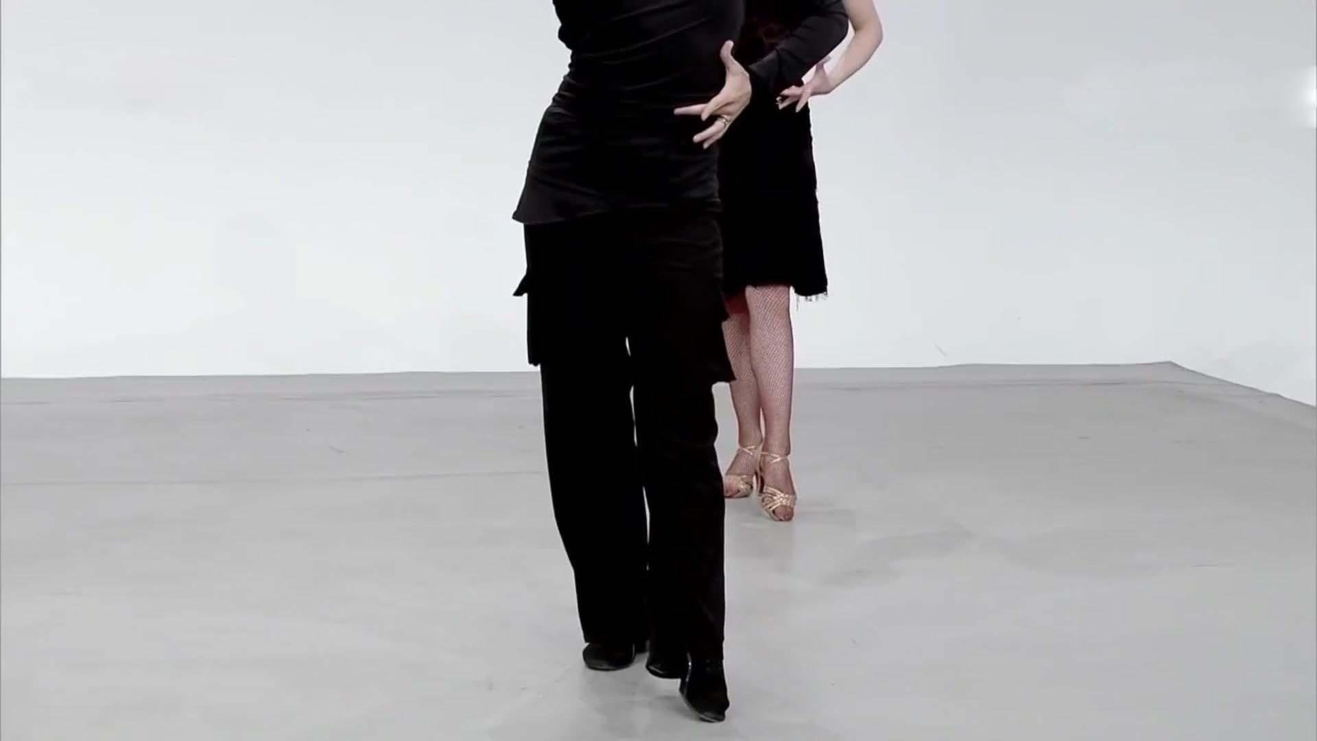 单人小组合(四)央视妈妈推出的伦巴舞教学果然精致