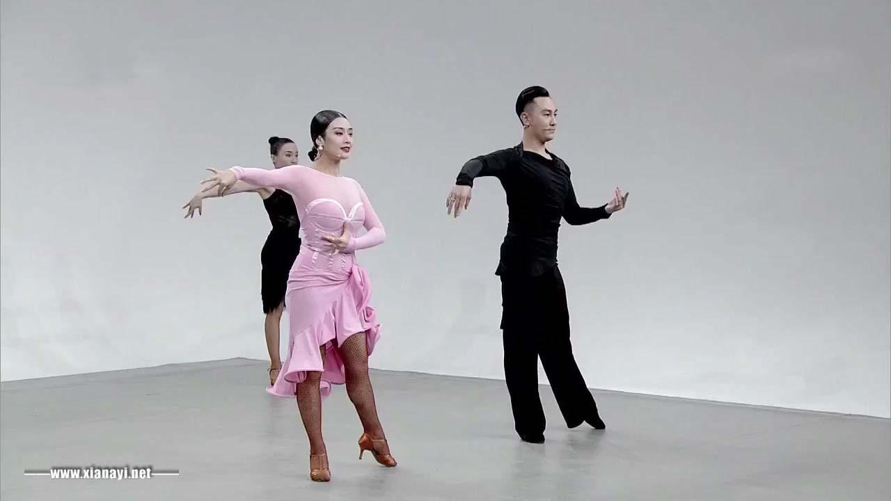单人小组合(三)央视妈妈推出的伦巴舞教学果然精致